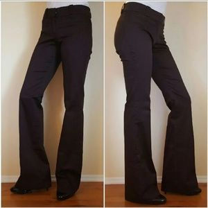 ZARA Brown Flare Bootcut Trouser Pant size 2